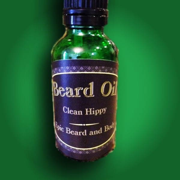 Clean Hippy Beard Oil - Epic Beard and Body