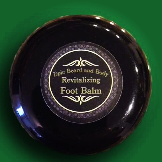 Revitalizing Foot Balm - Epic Beard and Body