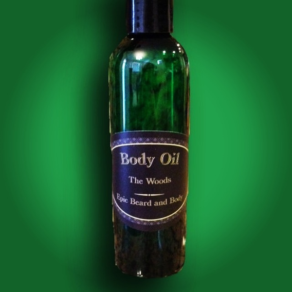 The Woods Body Oil - Epic Beard and Body