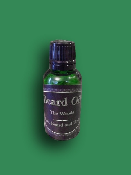 The Woods Beard Oil - Epic Beard and Body