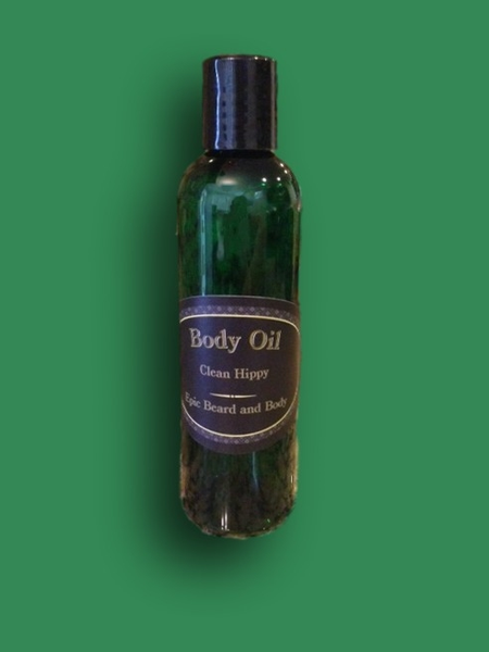 Clean Hippy Body Oil - Epic Beard and Body