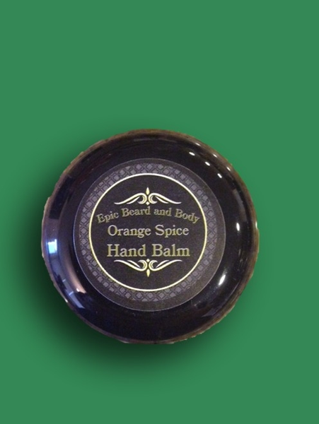 Orange Spice Hand Balm - Epic Beard and Body