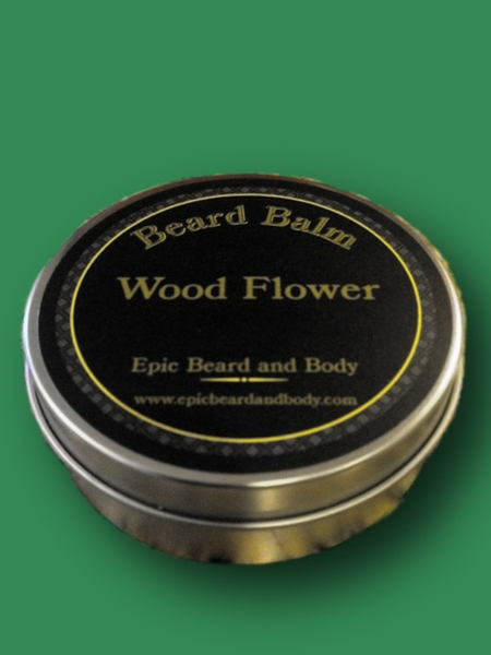 Wood Flower Beard Balm - Epic Beard and Body