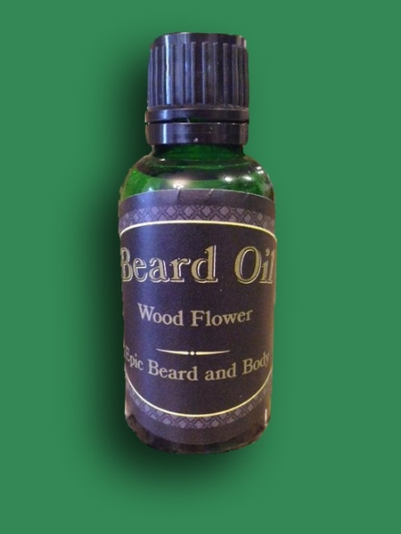 Wood Flower Beard Oil - Epic Beard and Body