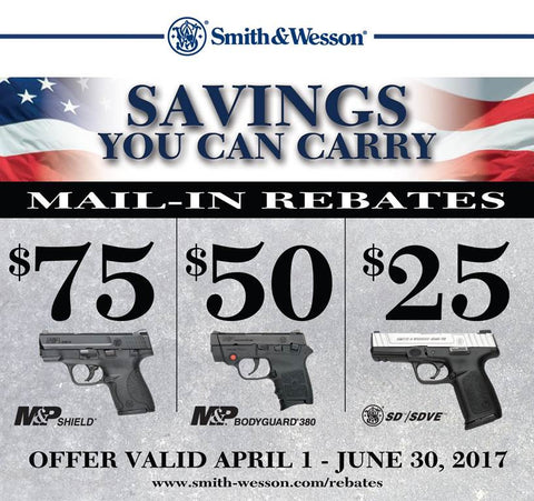 "Smith and Wesson ""Savings You Can Carry"""