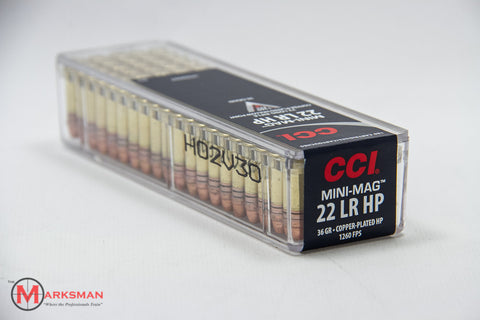 CCI Mini-Mag .22 lr, 36 Gr. HP