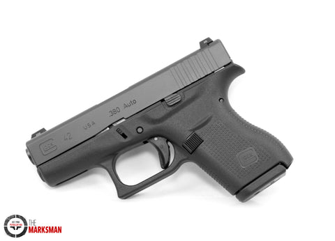 Glock 42, .380 ACP, Night Sights