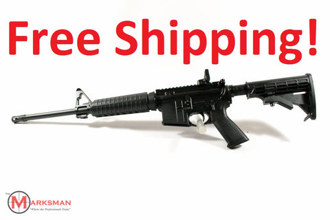 Ruger AR-556, 5.56mm NATO, Free Shipping