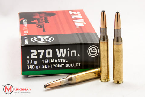 GECO .270 Winchester, 140 gr. Softpoint