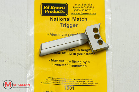 Ed Brown 1911 National Match Trigger