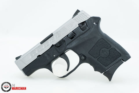 Smith and Wesson M&P Bodyguard, .380 ACP, Engraved