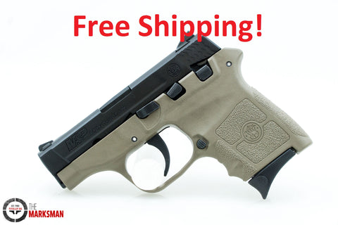 Smith and Wesson M&P Bodyguard 380, .380 ACP, Flat Dark Earth, Free Shipping
