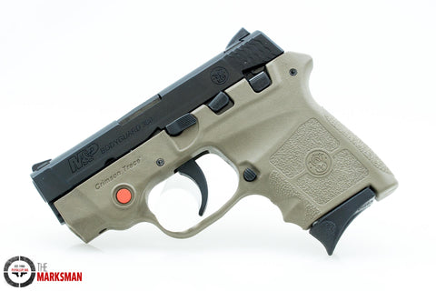 Smith and Wesson M&P Bodyguard 380, .380 ACP, Flat Dark Earth, Crimson Trace Laser