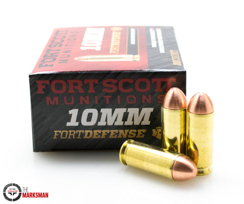 Fort Scott Munitions Fort Defense 10mm, 124 Gr. SCS