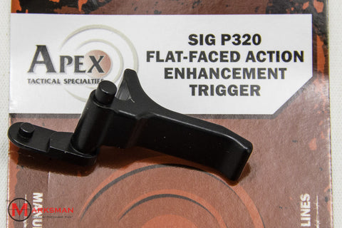 Apex Sig Sauer P320 Flat-Faced Action Enhancement Trigger