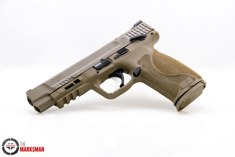 Smith and Wesson M&P40 M2.0, .40 S&W, Flat Dark Earth, Thumb Safety