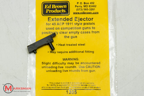 Ed Brown 1911 Extended Ejector, Blued