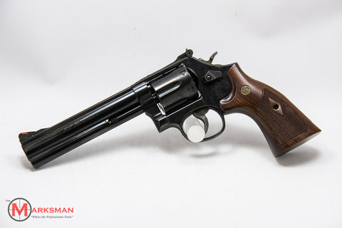 "Smith and Wesson 586, .357 Magnum, 6"" Barrel"