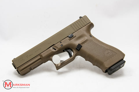 Glock 17 Generation 4, 9mm, Full Flat Dark Earth