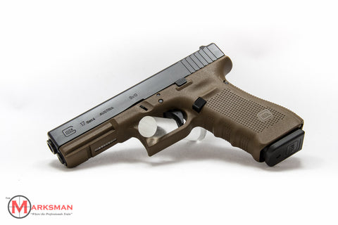 Glock 17 Generation 4, 9mm, Flat Dark Earth