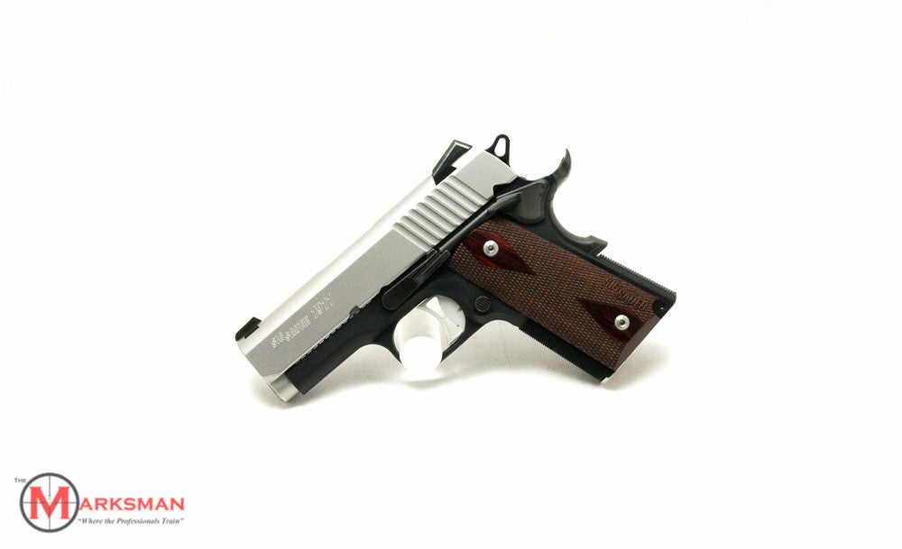 Sig Sauer Ultra Compact 1911, 9mm, Traditional Model