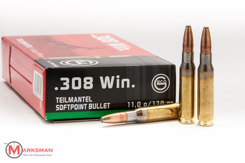 GECO .308 Winchester, 170 gr. SP