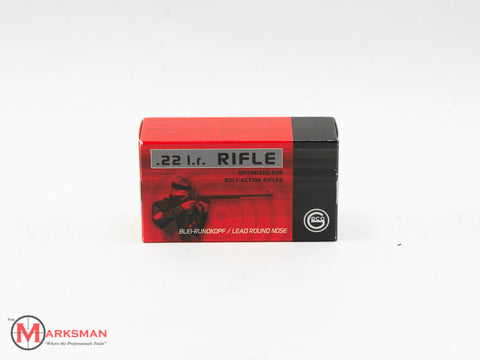 GECO 50 rounds 40 Gr. Lead RN Rifle, .22 LR