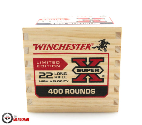 Winchester Super X .22 LR, 36 grain, 400 Rounds