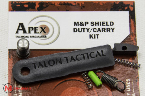 Apex M&P Shield Duty/Carry Kit