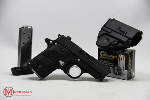 Sig Sauer P238 Nightmare, .380 ACP, With Extra Magazine and Defense Ammunition, Online Only