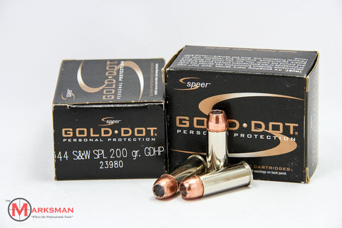 Speer Gold Dot .44 Special, 200 gr. GDHP