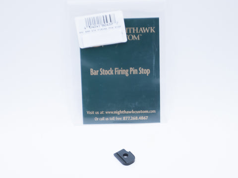 Nighthawk Custom 9mm Firing Pin Stop