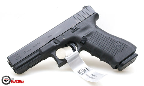 Glock 17 Generation 4, 9mm, Rebuilt