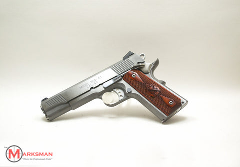 Springfield Stainless Steel Loaded 1911, .45 ACP