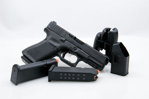 Glock 19 Generation 5, 9mm, Night Sights