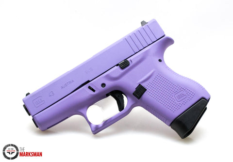 Glock 43, 9mm, Royal Purple, Acusport Exclusive