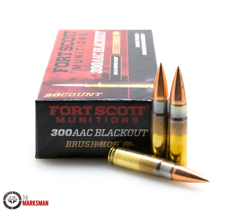 Fort Scott Munitions Brush Hog .300 AAC Blackout, 115 Gr. SCS