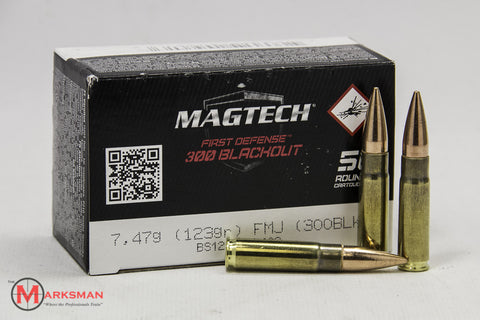Magtech First Defense .300 Blackout, 123 Gr. FMJ