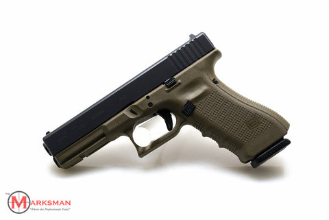 Glock 17 Generation 4, 9mm, O.D. Green, Limited Production