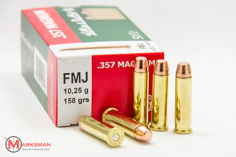 Sellier and Bellot .357 Magnum, 158 gr. FMJ