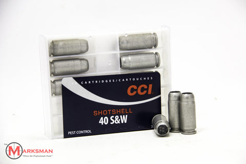CCI .40 S&W Shotshells, 3/16 oz. #9 shot