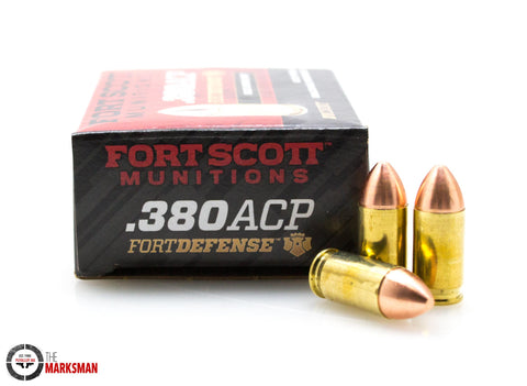 Fort Scott Munitions Fort Defense .380 ACP, 95 Gr. SCS