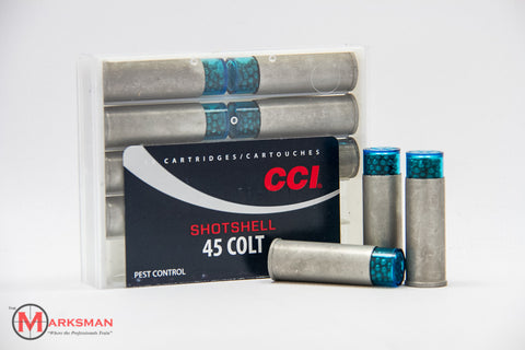 CCI .45 Colt Shotshells, 1/3 oz. #9 Shot