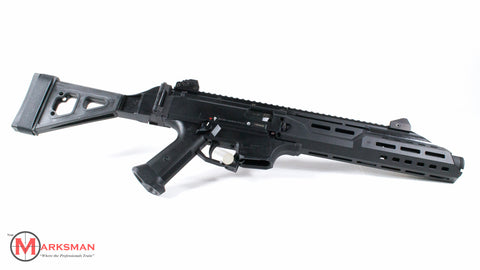 CZ Scorpion Evo 3 S1 Pistol, 9mm, With Flash Can and Folding Brace