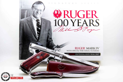 Ruger Mark IV Competition Signature Series, .22 lr, 1 of 1000 Made
