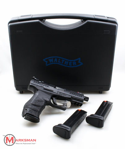 Walther PPQ Q4 Tac, 9mm, LAW ENFORCEMENT/MILITARY SALES ONLY