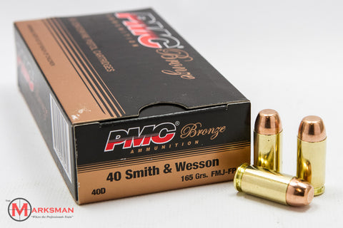 PMC .40 S&W, 165 gr. FMJ-FP