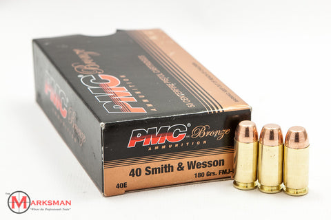PMC .40 S&W, 180 Gr FMJ-FP