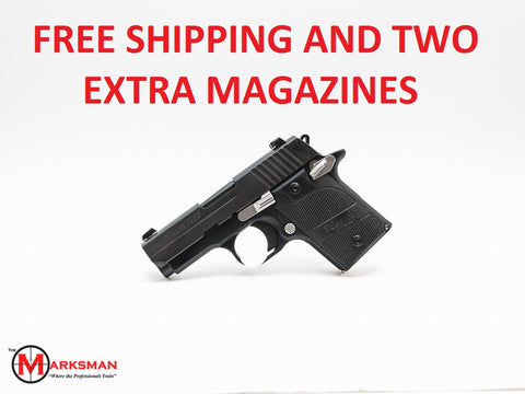 Sig Sauer P938 Nightmare, 9mm, Free Shipping and Two Extra Magazines