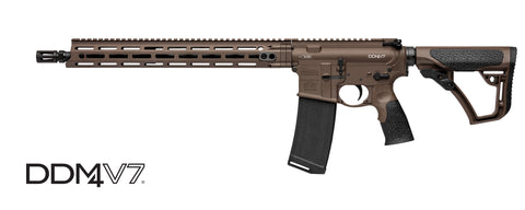 Daniel Defense DDM4 V7 Carbine, 5.56mm NATO, Milspec + Cerakote Finish, Free Shipping